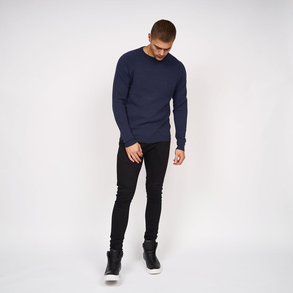 Delpha Knit Black Iris Marl
