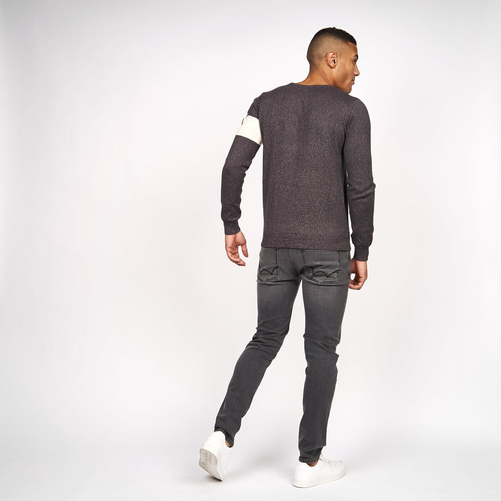 Carlow Knit Black Marl
