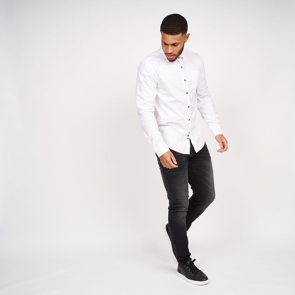 Belasco Shirt White