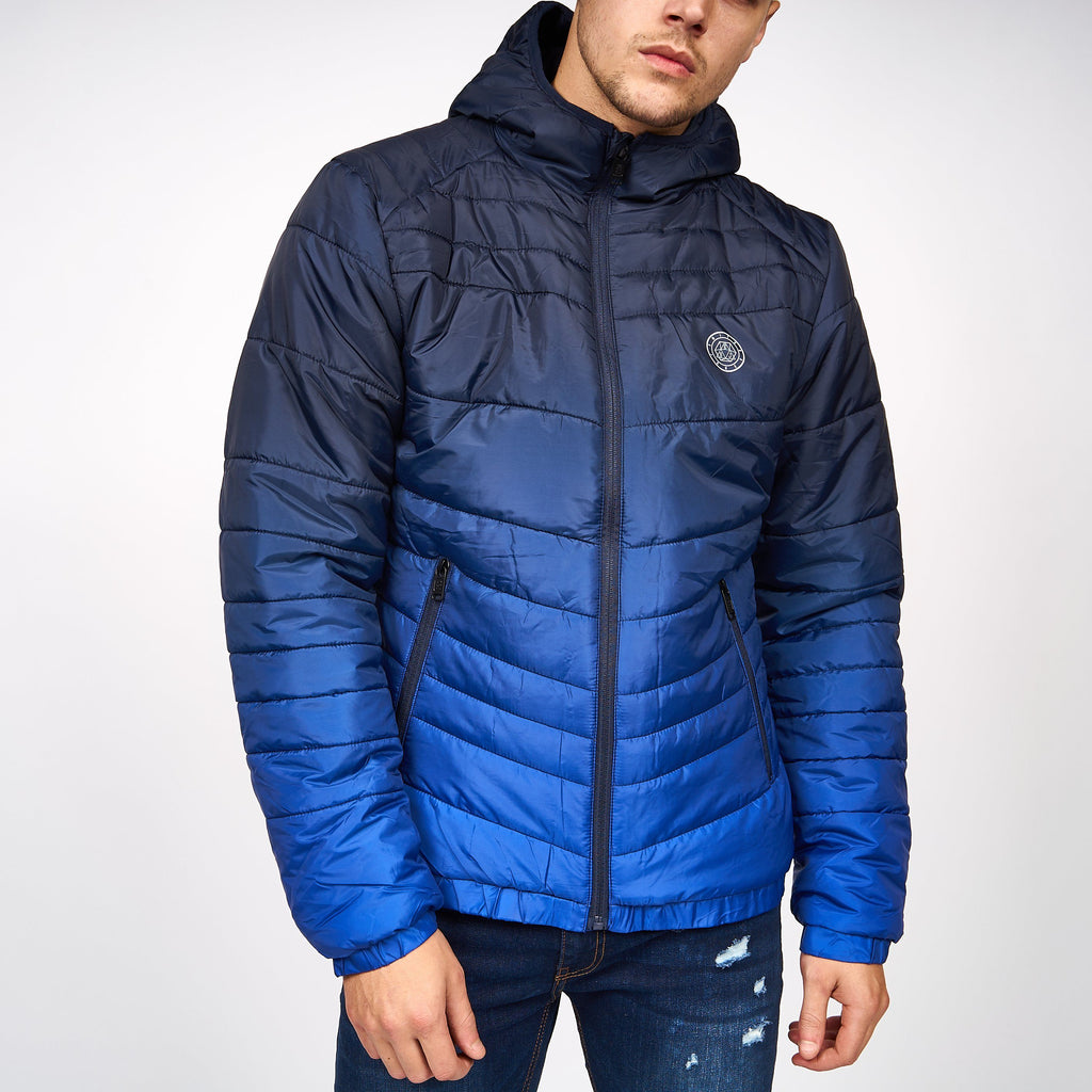 Decaro Ombre Jacket Sodalite Blue