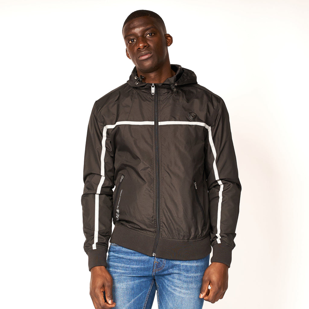 Dihedral Windbreaker Jacket Black