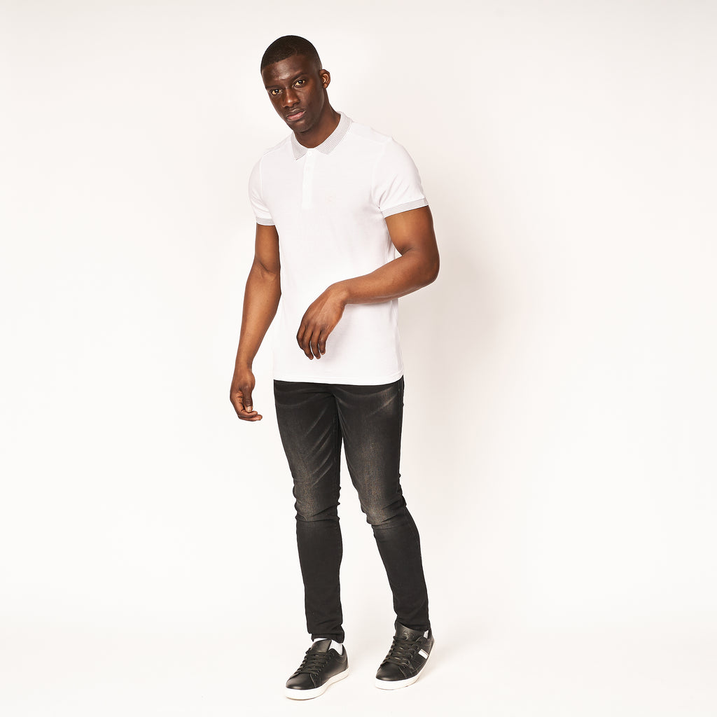 Daltone Polo White