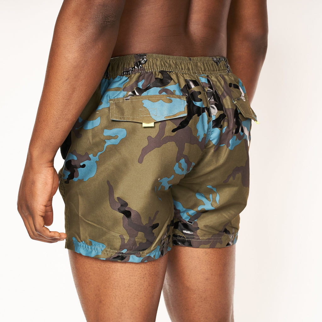 Melvin Swim Shorts Forest Night