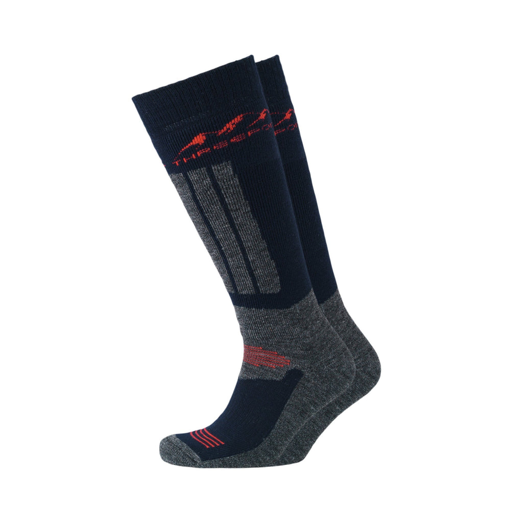 Wolds Socks 2Pk - Navy Accessories