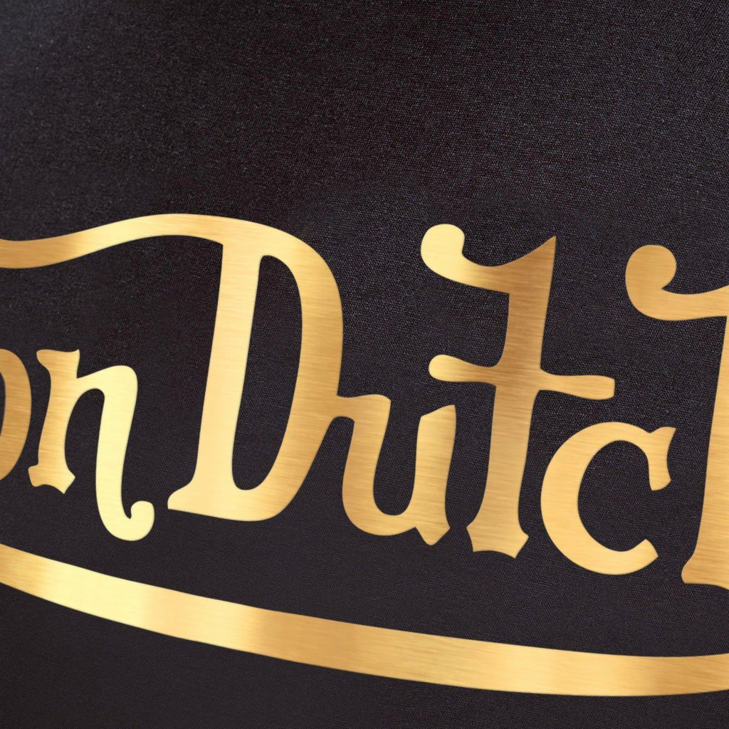 Von Dutch Classic Foil T-Shirt - Black/gold T-Shirts