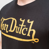 Von Dutch Classic T-Shirt - Black/gold T-Shirts