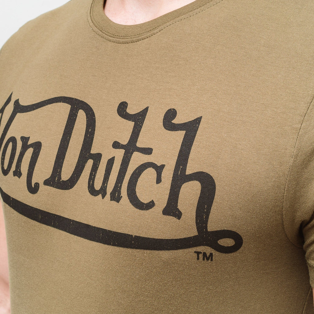 Von Dutch Classic T-Shirt - Olive/black T-Shirts