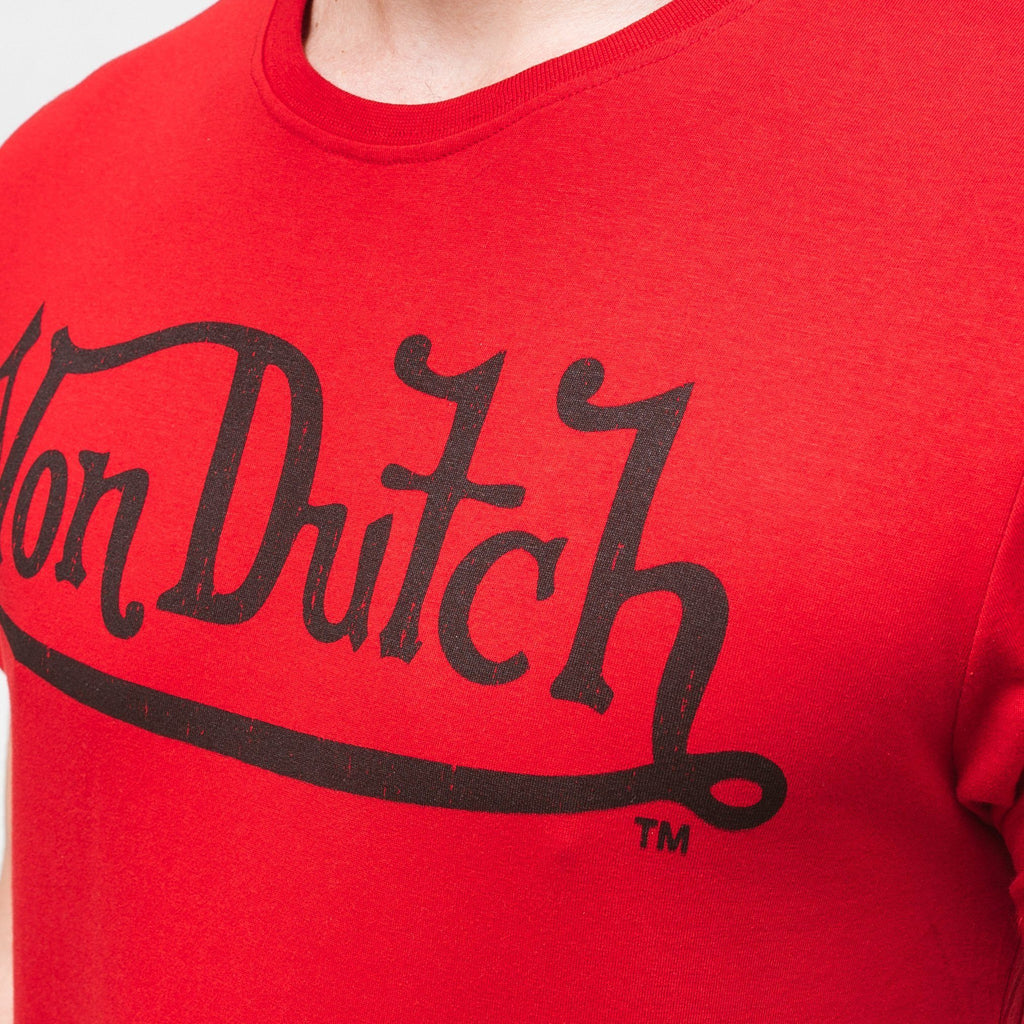 Von Dutch Classic T-Shirt - Red/black T-Shirts