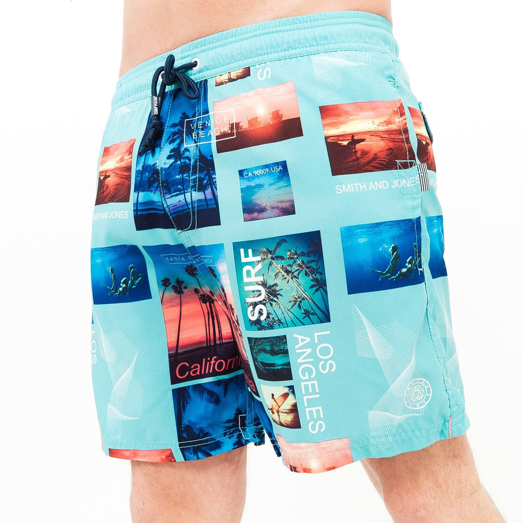 Zodai Swim Shorts S / Blue Radiance
