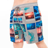 Zodai Swim Shorts S / Quiet Shade