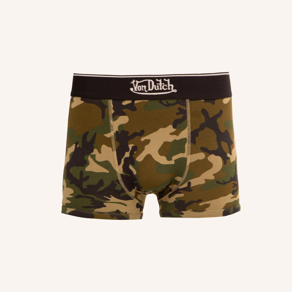 Von Dutch Firebird Boxers 3Pk - Black Camo Accessories