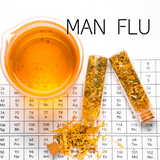 man flu natural herbal cold remedy