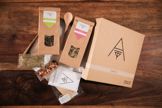 Yogi Box - Organic-Natural - Herbal remedies - loose tea Alchimie Thé
