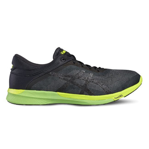 Asics Fuzex Rush Carbon/Black/Safety Yellow - Sports Point