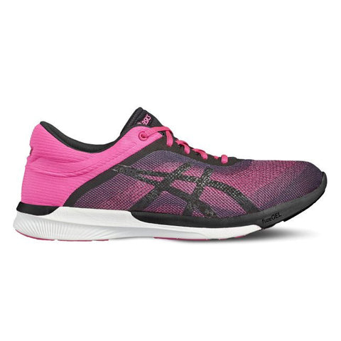 Asics Fuzex Rush Hot Pink/Black/White - Sports Point