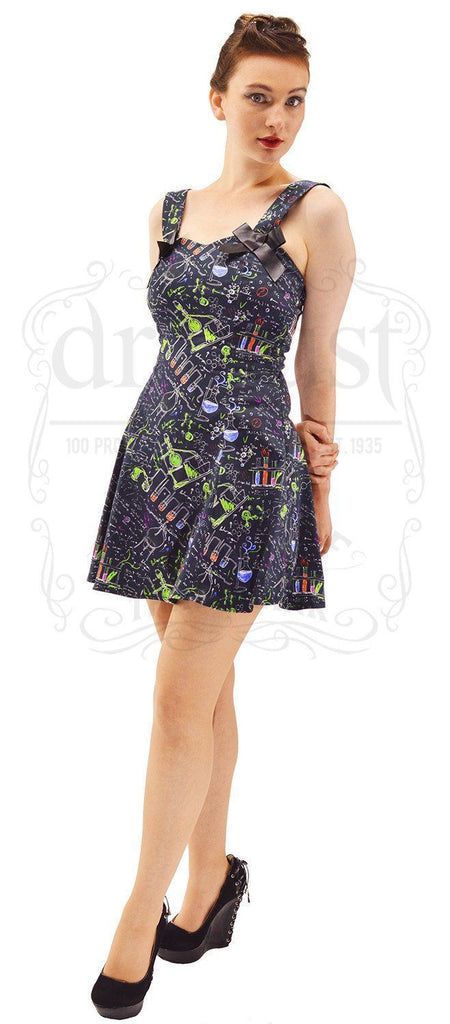 Alchemist Black Mini Dress - Kayleigh - Dr Faust