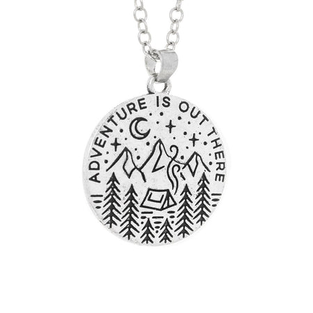 Adventure Is Out There Scenery Pendant and Necklace - Amaya - Dr Faust