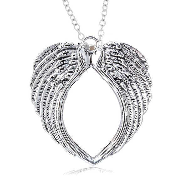 Angel Wings Large Pendant and Necklace - Khloe - Dr Faust