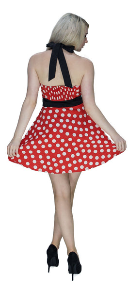 Minnie Mouse Style Mini Dress - Anna - Dr Faust