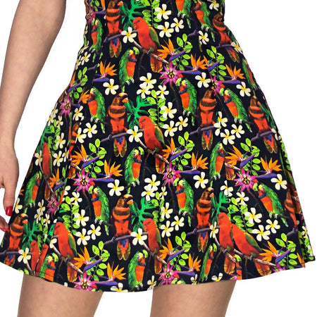 Birds of Paradise Mini Dress - Avery - Dr Faust