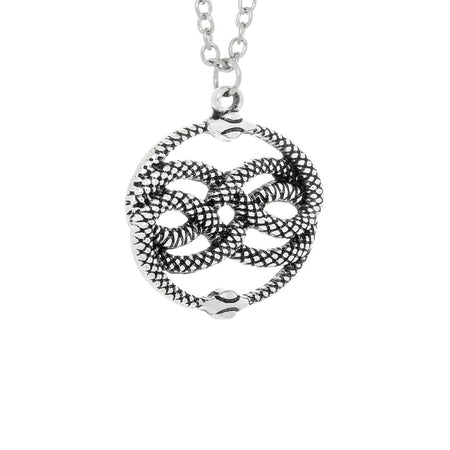 Coiled Snakes Lemniscate Pendant and Necklace - Kimberly - Dr Faust