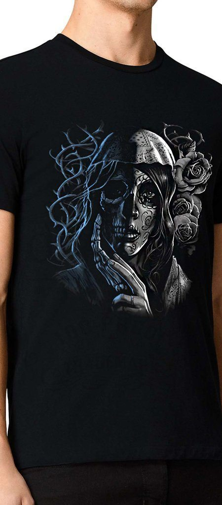 Life and Death Black T-Shirt - Ronald - Dr Faust