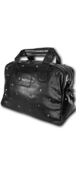 Faustian Pyramid Vegan Leather Black Hand Bag - Pandora - Dr Faust