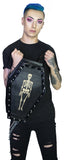 Skeleton Large Vegan Leather Coffin Back Pack - Eddie - Dr Faust