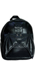 Happy 3D Bat Black Vegan Leather Backpack - Taipan - Dr Faust