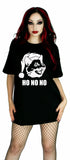 Ho No No Cat Black T-Shirt - Noah - Dr Faust