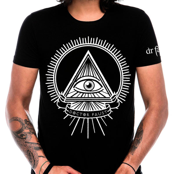 Illuminati Eye Faust T-Shirt - Cody - Dr Faust