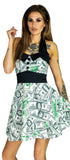 Million Dollar Print Mini Dress - Emma - Dr Faust