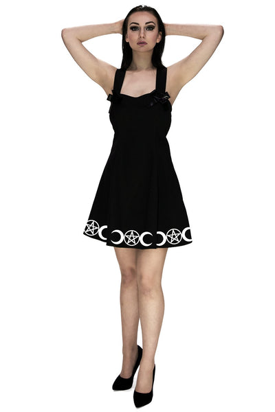 Moonchild Little Black Mini Dress - Lilith - Dr Faust