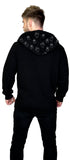 Not So Scary Ghosts Thick Men's Black Hoodie - Kody - Dr Faust