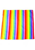 Rainbow Stripe Cotton Bandana - Maddux - Dr Faust