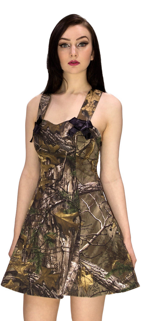 Ripstop Camo Mini Dress - Brooklyn - Dr Faust