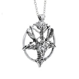 Sigil of Baphomet PentaRam Pendant and Necklace - Teagan - Dr Faust