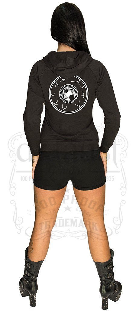Creepy Eyeball Planet Hoodie - Camilla - Dr Faust