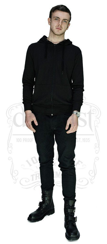 Bast Moon and Pentagram Hoodie - Lincoln - Dr Faust