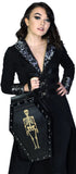 Skellington Vegan Leather Coffin Backpack - Jack - Dr Faust