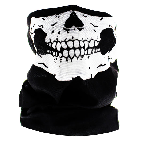 Skull Outlaw Jaw Face Mask Covering - Jason - Dr Faust