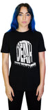 The End Death Tombstone Black T-Shirt - Maiden - Dr Faust