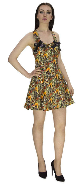 Aztec Ancient Civilisation Mini Dress - Daphne - Dr Faust