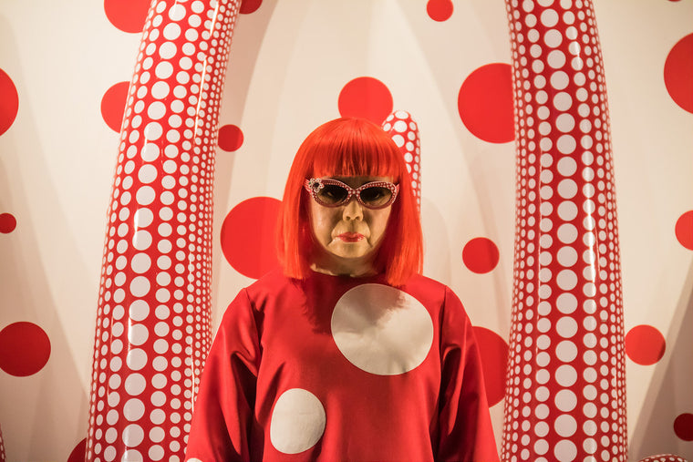 Wilde Inspiration: Yayoi Kusama Shows That Dots Inspire Infinite Creativity