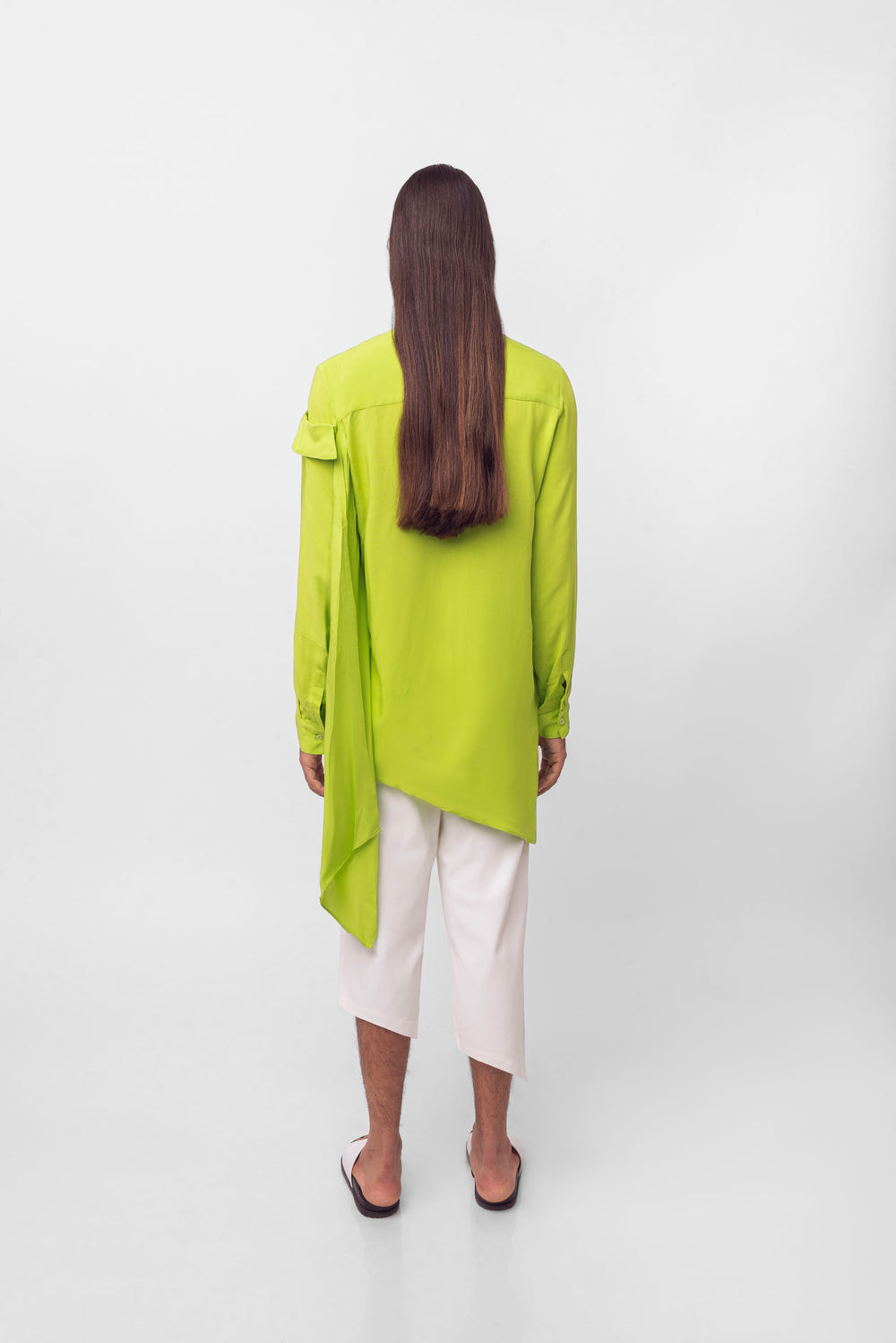 Lime Blouse // Unisex