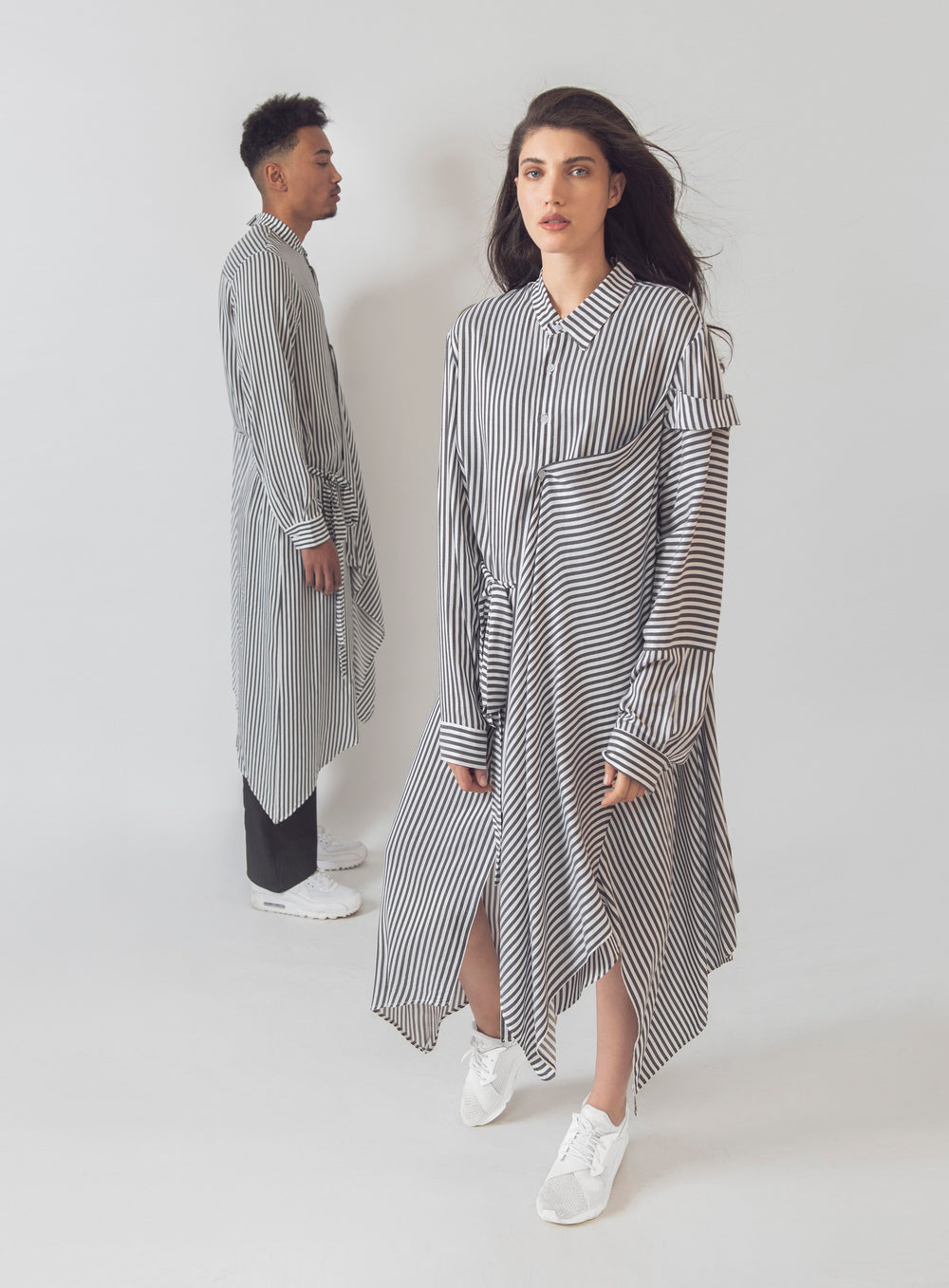 Pinstripe Dress // Unisex