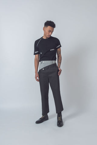Denim Smoke Trousers // Unisex