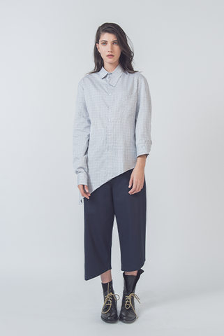 Gray Button-Down // Unisex