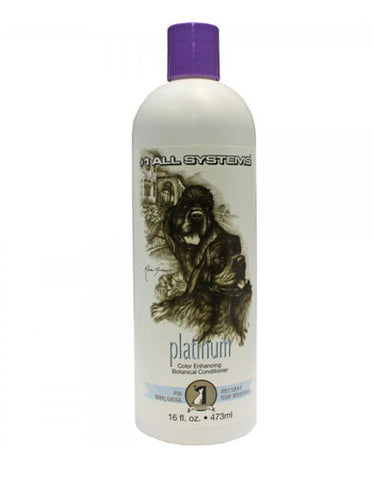 #1 All System Color Enhancing Botanical Conditioner Platinum (White Gold) for Pet | Perromart Online Pet Store Malaysia