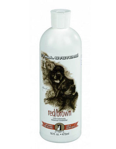 #1 All System Color Enhancing Botanical Conditioner Red for Pet | Perromart Online Pet Store Malaysia